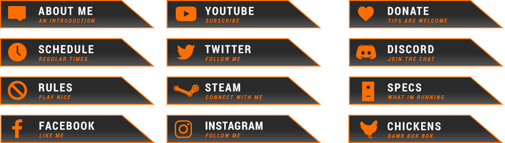 Free Twitch Overlay Counter Strike Panels