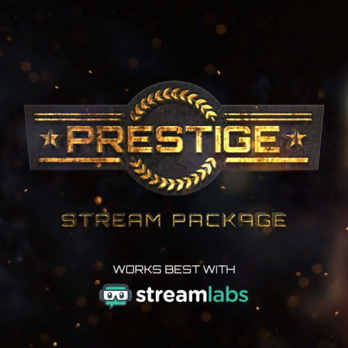 Prestige Stream Package - Military Themed Overlay