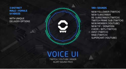 Twitch Alert Sound Pack - Suitable for Streamlabs, Stream Elements and more